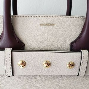 Burberry Bags - Burberry 2019 Small Belt Leather Bag - Limestone
